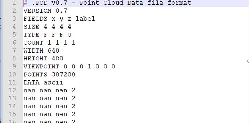 MeshLab で 3次元点群データの表示, 3次元点群データをメッシュ